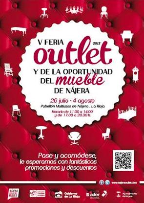 Comienza la V Feria Outlet del mueble de Nájera