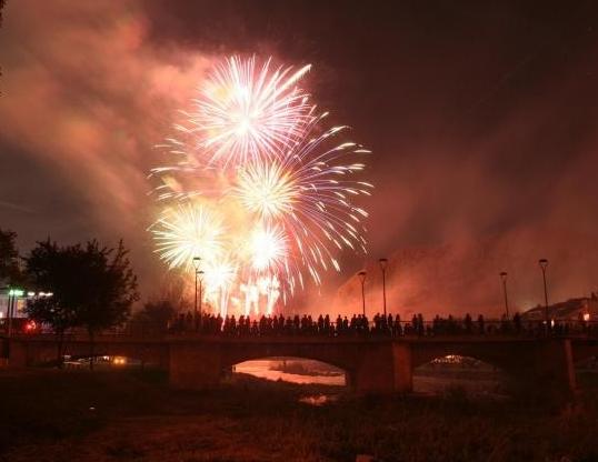 Fiestas patronales en Nájera