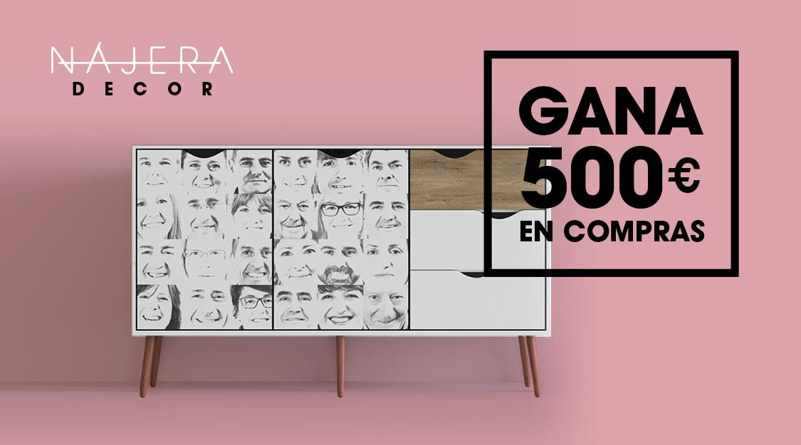 Gana 500€ y amuebla tu hogar en NÁJERADECOR