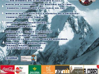 Nájera, XX Semana Cultural del Club de montaña K2
