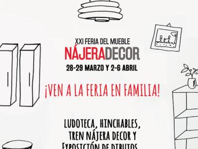 Ven a la Feria del Mueble en familia