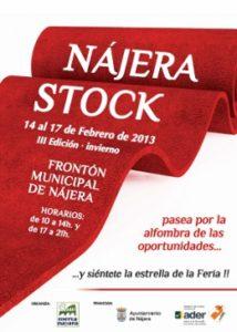 3ª Feria de oportunidades Nájera Stock