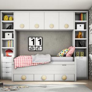 Dormitorio juvenil PC kids
