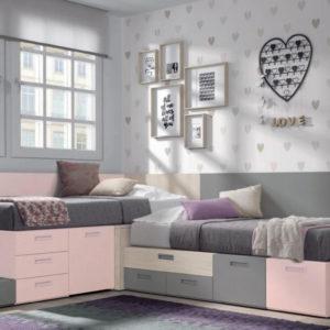 Ambiente dormitorio Oslo