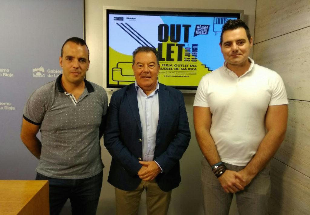 Jonás Olarte, Javier Ureña y Sergio Díez