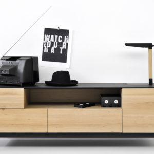 Mueble de televisión Blackbird
