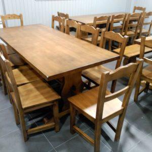 Mesas hasta 4m de largo