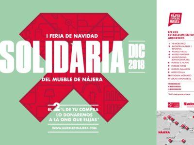 La I Feria de Navidad Solidaria del Mueble de Nájera destinará el 2%  de las ventas a ONGs de acción social