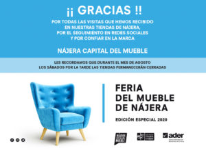 Feria del Mueble de Nájera, edición especial 2020